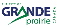 Logo for the City of Grande Prairie