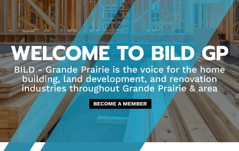 BILD GP - Homebuilders Association in Grande Prairie [Mobile Banner]